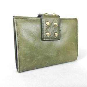 Leather Kenneth Cole Reaction Waller Green Trifold